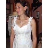 korzetové šaty bílé X09