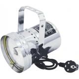 PAR 36T SET, stříbrný, bodový reflektor + žárovka