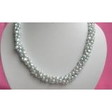 Perlový náhrdelník pravé jezerní perly 8mm N1762