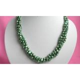 Perlový náhrdelník pravé jezerní perly 8mm N1770