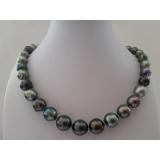 Perlový náhrdelník mořské tahiti perly 13mm ES065