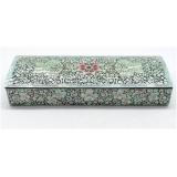 Šperkovnice z lakovaného dřeva vykládaná duhovou perletí  JK012