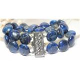 Náramek modrý lapis lazuli 12mm BJ4109