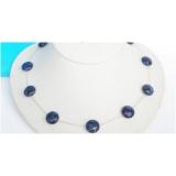 Náhrdelník modrý lapis lazuli 14mm NJ4277