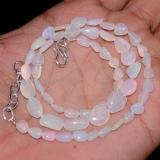 Opálový náhrdelník přírodní etiopský duhový opál ID035