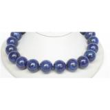 Náhrdelník modrý lapis lazuli 20mm NJ6727