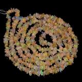 Náhrdelník přírodní etiopský opál EL001