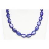 Náhrdelník modrý lapis lazuli 15x20mm NJ9736