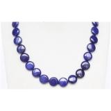 Náhrdelník modrý lapis lazuli 14mm NJ9737
