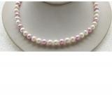 Perlový náhrdelník jezerní perly 9mm NJ9410