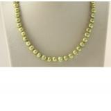 Perlový náhrdelník jezerní perly 9mm NJ9400