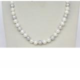 Perlový náhrdelník jezerní perly 10mm NJ9393
