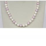 Perlový náhrdelník jezerní perly 10mm NJ9392