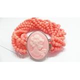 Náramek růžový korál BJ4115