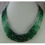 Náhrdelník přírodní smaragdy DL067