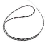 Náhrdelník přírodní černý diamant ES059