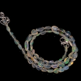 Náhrdelník přírodní etiopský opál ID071