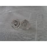 Náušnice křišťál květina EP015