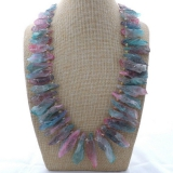 Náhrdelník barevný křišťál YY241