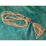Perlový náhrdelník jezerní bílé perly YY199