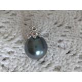Perlový přívěšek mořská tahiti perla 16mm VN013
