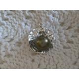 Perlový přívěšek, mořská tahiti perla 9mm ES070