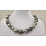 Perlový náhrdelník mořské tahiti perly 16mm ES063