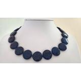 Náhrdleník lapis lazuli 20mm NB330