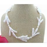 Perlový náhrdelník jezerní bílé perly YY266