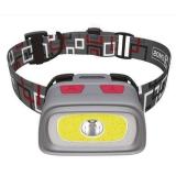 LED čelovka EMOS E1801, 1x CREE XPG LED + 1x COB LED + zadní červená LED
