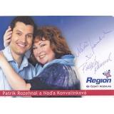 Naďa Konvalinková a Patrik Rozehnal