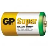 Baterie GP SuperAlkaline D R20A, 1.5V, velké mono, 2pack