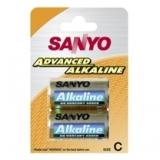 Sanyo Alkaline C 1,5V malý mono LR14 (2pack)