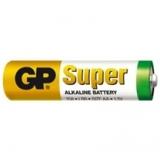 Baterie GP SuperAlkaline AA R6A, 1.5V, tužka, blistr 12ks