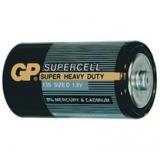 Baterie GP Supercell D R20, 1.5V, velké mono, 2pack