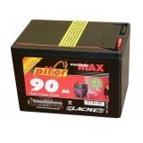 Baterie PILOR 9 V / 90 Ah pro elektrický ohradník