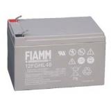 Baterie Fiamm 12FGHL48 (12V/12Ah - Faston 250, životnost 10 let)