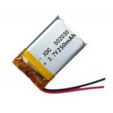 Akumulator 502030 250mAh 3.7V Lipol