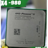 AMD Phenom II X4 980 CPU Processor Quad-Core (3.7Ghz/6M /125W ) Socket AM3 AM2+ 938 pin