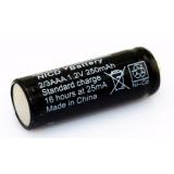 Baterie FMA pro bezdrátový telefon iDECT X1 / X1i Ni-MH 2 / 3AAA 1.2V 400mAh 10 * 30mm