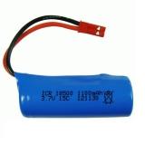3.7V 1100mAh 15c lipo baterie pro S900 FT008 Dálkové ovládání vrtulníku / člun 3.7 v 18500 Li-po baterie pro Toy Battery SM Plug