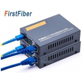 1 pair 10/100/1000Mbps 3KM or 20KM Media converter Fibra Optica Transceiver FTTH optic fiber gigabit Conversor de Fibra SM