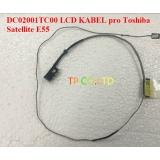 DC02001TC00 LCD KABEL pro Toshiba Satellite E55 M40 E45 E45T L40 L40-A M50D-A-10K E45-A4100M50D-A-10K KABEL LCD LVDS