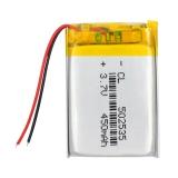 3.7V 450mAh 502535 Lithium Polymer Li-Po Li ion Dobíjecí baterie Lipo články Pro světlomet hledače Tachograf Bluetooth reproduktor
