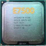 Intel Core 2 Duo E7500 CPU Processor (2.9Ghz/ 3M /1066GHz) Socket 775