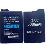 Baterie pro přenosný ovladač Sony PSP2000 PSP3000 PSP 2000 PSP 3000 Gamepad PlayStation 3600mAh