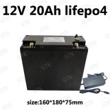 Nabíjecí LiFePo4 12V 20Ah baterie pro UPS golfový vozík Solární Street Light elektrické kolo solární energie Escooter