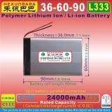 Akumulator 366090 li-pol 3.7V 24000mAh