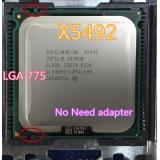 INTEL XEON X5492 3.4GHz / 12M / 1600Mhz / procesor se rovná LGA775 Core 2 Quad Q9650 Q9550 CPU, pracuje na základní desce LGA775 (bez nutnosti adaptéru)