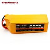 Akumulátor TCBWORTH 6S RC LiPo battery 22.2V 5000mAh 40C -80C pro RC Airplane AKKU Drone Li-ion battery